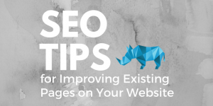 SEO Tips for Improving Existing Pages on Your Website | Crash Creative