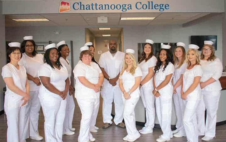 chattanooga college pinning image